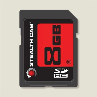 8GB SD Memory Card Single Pack