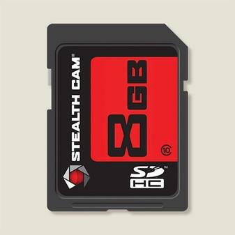 8GB SD Memory Card Single Pack