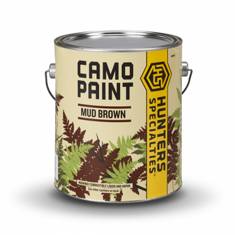 Permanent Paint - Mud Brown - Quart