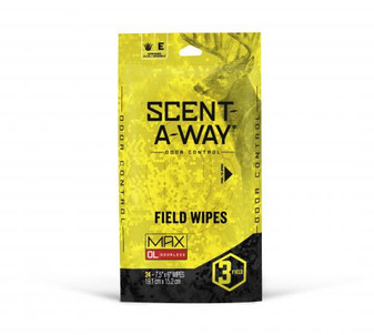 Scent-A-Way Max Field Wipes