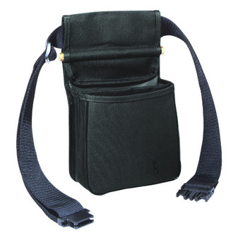 419T Divided Shell Pouch w/Belt - Black