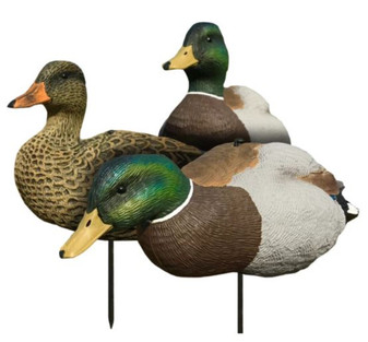 Mallard EVAC Fullbody Decoys 6 Pack