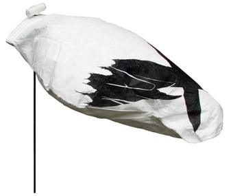 Headless Snow Goose Windsock 120 pack