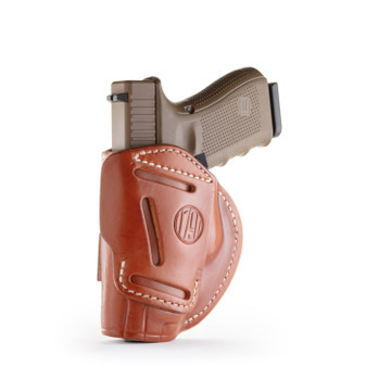 4 Way Concealment Holster Size 5 - Classic Brown