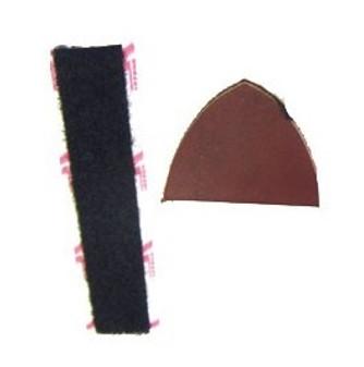 Traditional Shelf Rest Leather & Felt