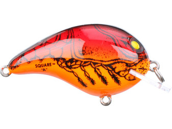 Model 4A Square Lip Crankbait - Apple Red Crawdad