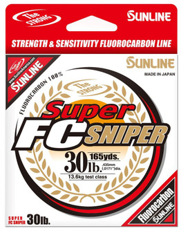 Super FC Sniper Fishing Line 14lb/660yd - Clear