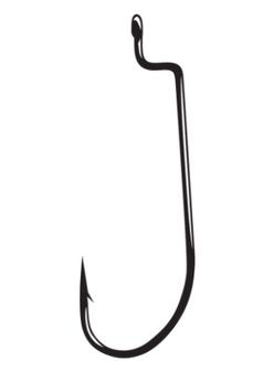 2/0 Worm Offset Shank Hook