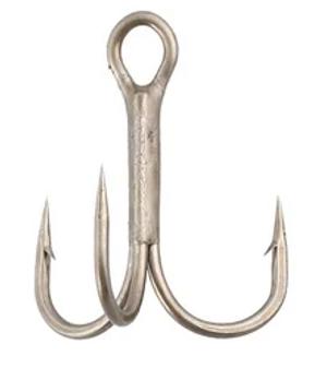 Size 4 Treble EWG Bronze Hook