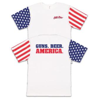Guns Beers America S/S Tee
