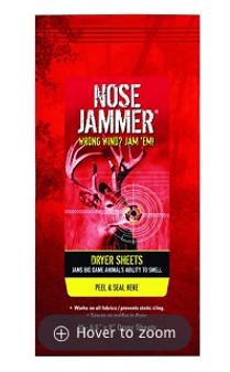 Nose Jammer Dryer Sheets