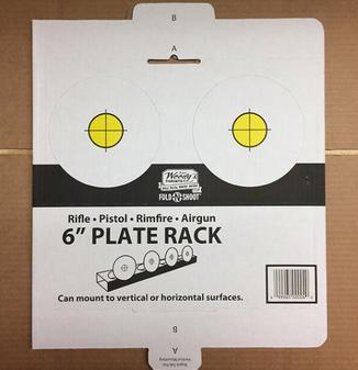 "Fold N Shoot 6"" Plate Rack"