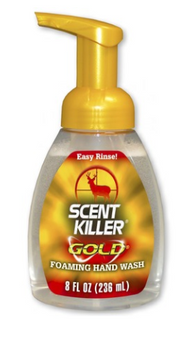 Scent Killer Gold 8oz Foaming Hand Wash