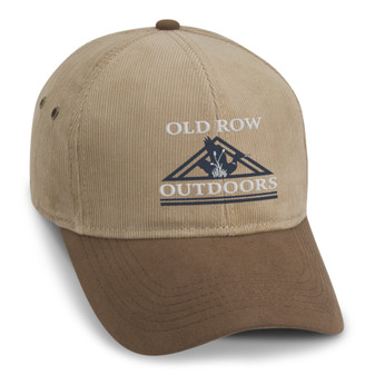 Tan Corduroy Outdoors Hat