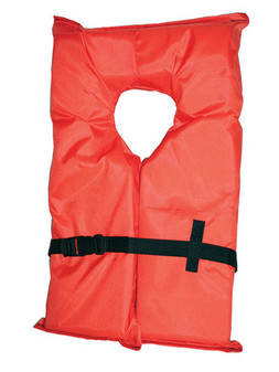 Type II Adult Life Jacket - Orange