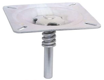 Seat Mount Pin 3/4 with Spring Plated Steel Rotate 360 Boat MD