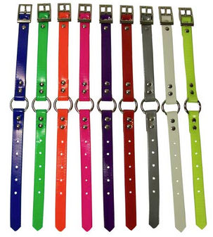 "3/4"" Ring In Center Day-Glo Collars"