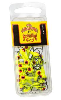 1/16oz Mr Crappie Jig Head - 25 Pack