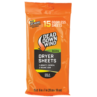 Dryer Sheets - Natural Woods - 15 Count