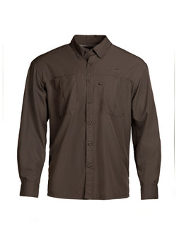 Intracoastal L/S Fishing Shirt - Granite