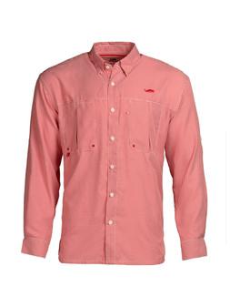 Intracoastal L/S Fishing Shirt - Red Check