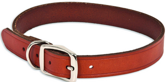 "Ruff Max Dog Collar 1""x18"" BRN"