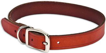 "Ruff Max Dog Collar 1""x24"" BRN"