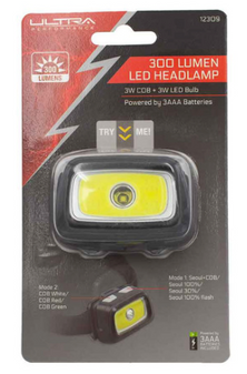 300 Lumen LED Headlamp