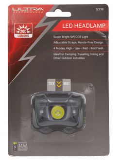 200 Lumen LED Headlamp
