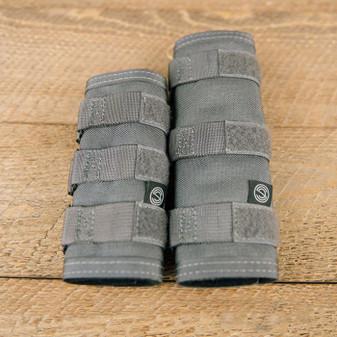 "7.5"" High Temp Suppressor Cover - Grey"