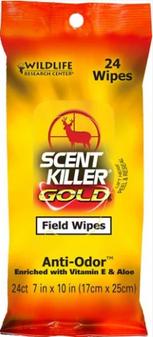 Scent Killer Field Wipes 24pk
