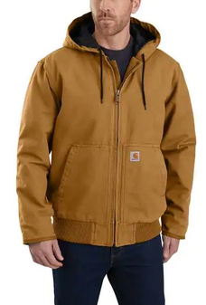 Washed Duck Insulated Jacket