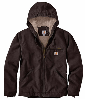 Washed Duck Sherpa Lined Jacket