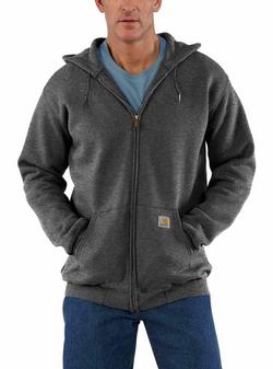 Midweight Zip Hooded Sweatshirt