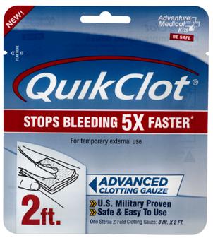 "3""x24"" QuikClot Clotting Gauze"