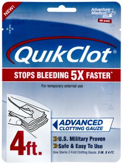 "3""x48"" QuikClot Clotting Gauze"
