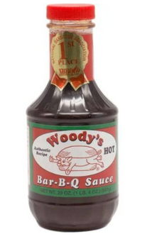 BarBQ Sauce 20oz - Hot