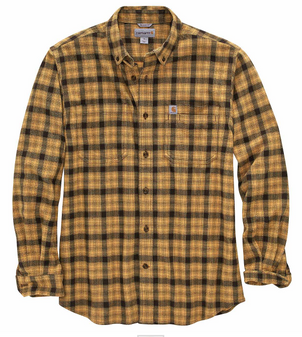 Relax Fit Flannel L/S Plaid