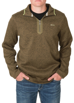 Heather Fleece 1/4 Zip Pullover