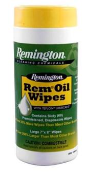 Rem-Oil Wipes - 60ct
