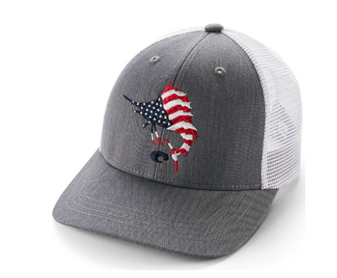 Liberty Sail Trucker Hat Gray