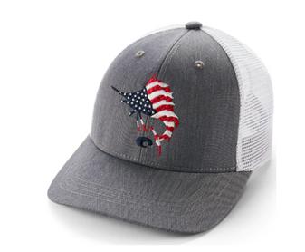 Liberty Sail Trucker Hat Gray