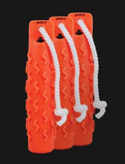 Soft Mouth Trainer 3pk -Orange