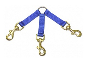 DGlow 3-Dog Blue Coupler