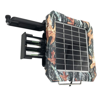 Solar Battery Pack 12 Volt mounted front view