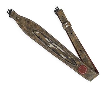 Leather Rifle Sling Brown/Tan