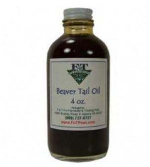 Beaver Tail Oil 1oz