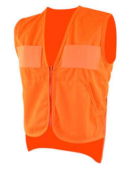 Youth Zippered Safety Vest