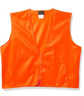 Zippered Safety Vest