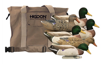 Magnum Mallard Flocked Head +Bag